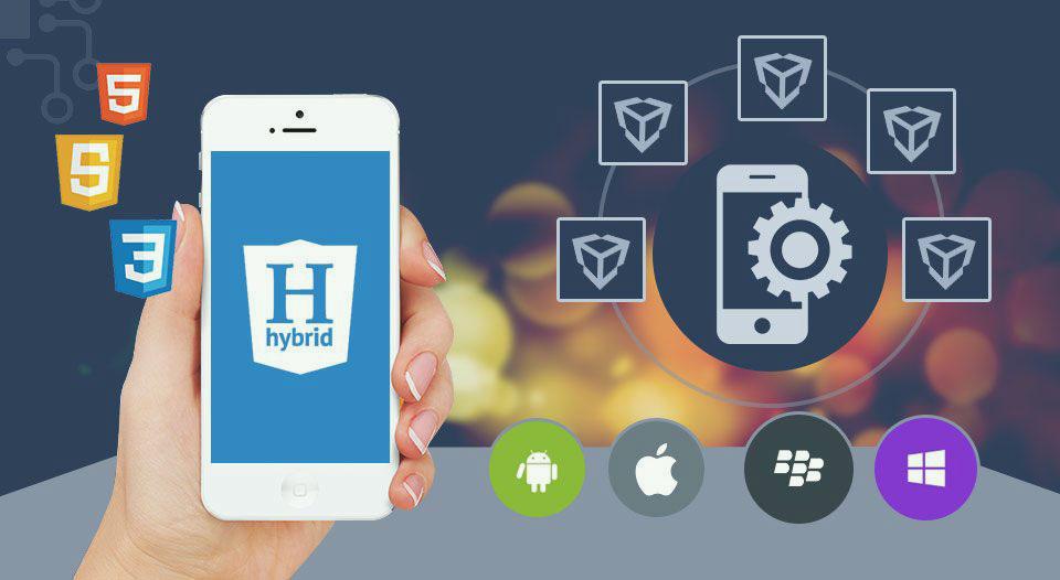 اپلیکیشن های Hybrid