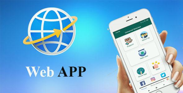 اپلیکیشن های وب ویو web view